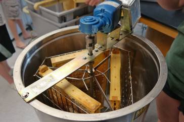 Centrifuge: The Honey Extraction Contraption